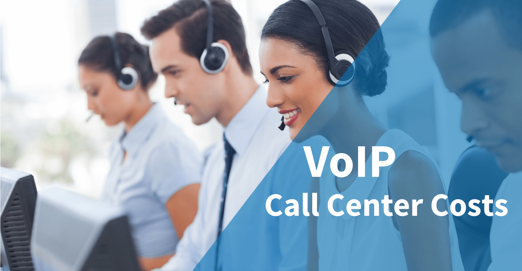 VoIP Call Center Costs Banner