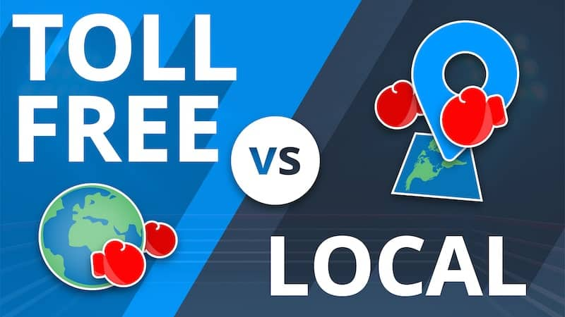 toll free vs local number