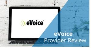 evoice provider review banner